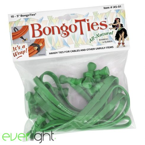 BongoTies (10 darab) zöld, kötegelő