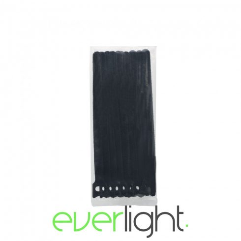Handy Tépőzáras kábelkötegelő - 240x12mm fekete (10db)