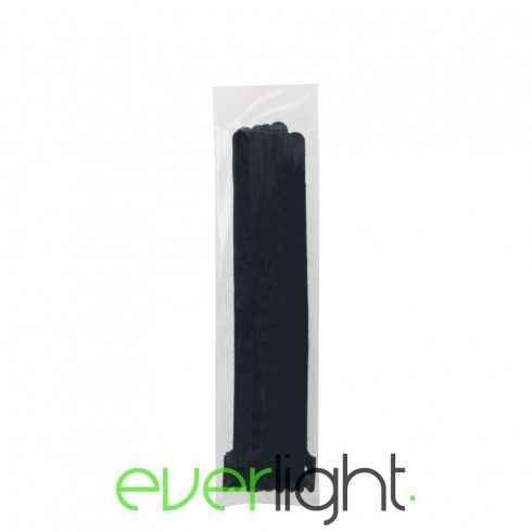 Handy Tépőzáras kábelkötegelő - 330x12mm fekete (10db)