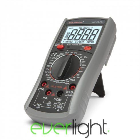 Maxwell MX-25 201 Digitális multiméter (TRUE RMS) hőmérséklet méréssel