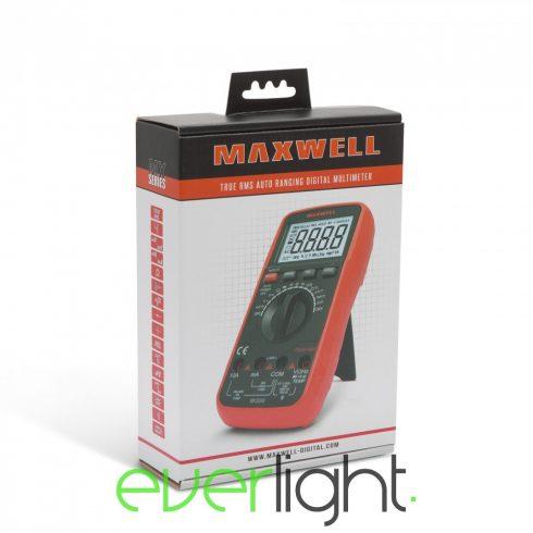 Maxwell MX-25 303 Digitális multiméter (TRUE RMS) hőmérséklet méréssel