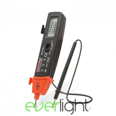 Maxwell MX-25 401 Digitális multiméter LED lámpával