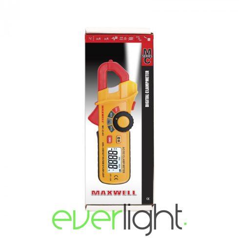 Maxwell MC-25 603 Digitális lakatfogó érintkezés nélküli áram detektálással