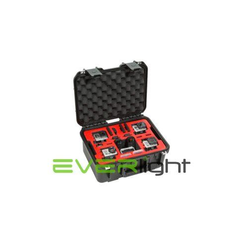 SKB Vízálló műanyag hordláda 4 GoPro-hoz (dual layer)