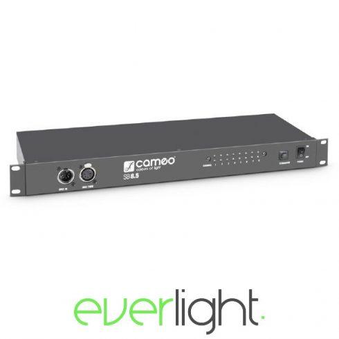 Cameo Light SB85 – 8 csatornás DMX splitter (5 pólusú XLR)