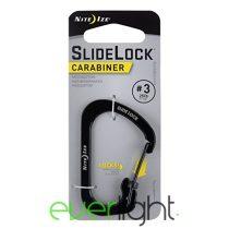 Nite Ize SlideLock #3karabiner fekete
