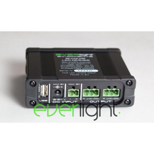 Everlight BiColor (Hybrid) LED Dimmer, 12/24VDC, 8/12A