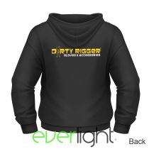 Dirty Rigger Embroidered Hoodie (pullover)