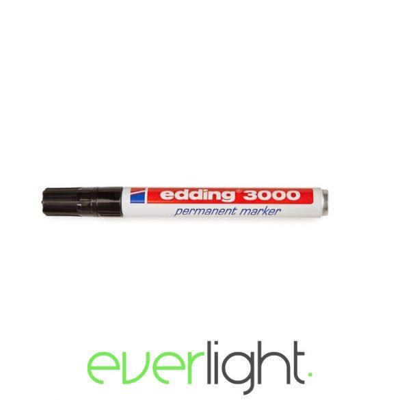 EDDING 3000 Alkoholos marker 1,5-3mm kúpos fekete