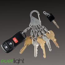 Nite Ize KeyRack Locker fém kulcstartó, 6 darab fém karabínerrel