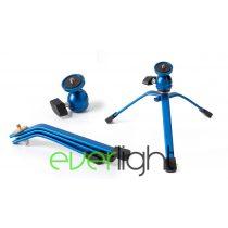 MuraroMU066Spider állvány kék, gömbfejjel
