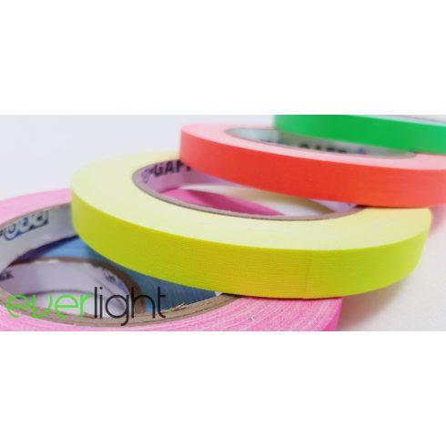 Pro Gaff UV citromsárga jelölőszalag 13mmx25m