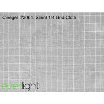 Rosco Cinegel 3064 - Silent 1/4 Grid Cloth színfólia