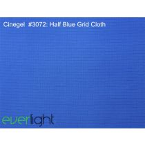 Rosco Cinegel 3072 - Half Blue Silent Dyed Grid Cloth színfólia