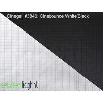 Rosco Cinegel 3840 - Cinebounce White/Black színfólia
