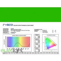 Rosco Cinegel 4490 - 90 Green színfólia
