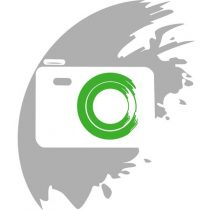 Öntapadós Tépőzár 25mm x 25méter, zöld
