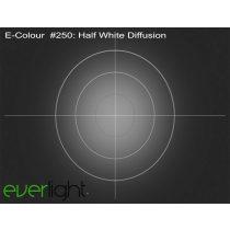 Rosco E-Colour 250 - Half White Diffusion színfólia