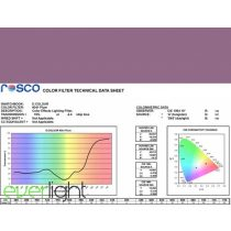 Rosco E-Colour 341 - Plum színfólia