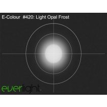 Rosco E-Colour 420 - Light Opal Frost színfólia
