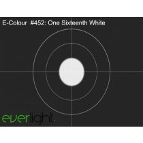 Rosco E-Colour 452 - One Sixteenth White színfólia