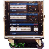 Logen Road24 digitális dimmer egység (24x2,5kW Dimmer + Erősáram + Flight case)