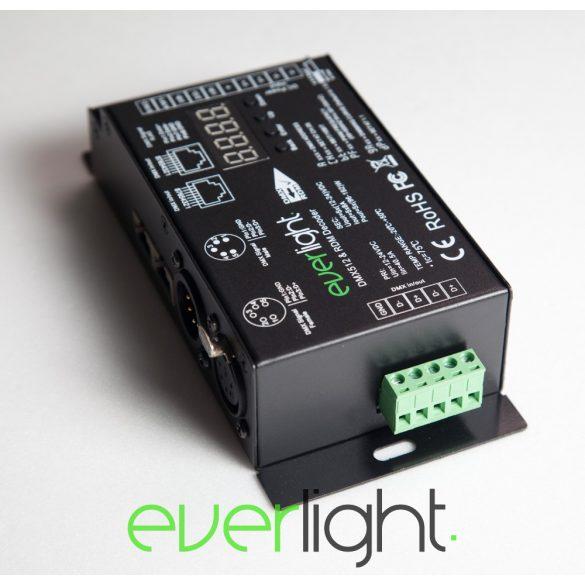 Everlight PRO DMX dekóder - 5 csatornás, RDM, Flicker-free, 12-24V