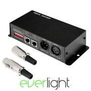 Everlight DMX dekóder - 4 csatornás (12-24V)