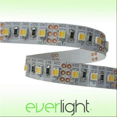 ZDA 3528 Bi-Color LED szalag (120LED/m, 19W/m, 10mm, IP20, 12V)